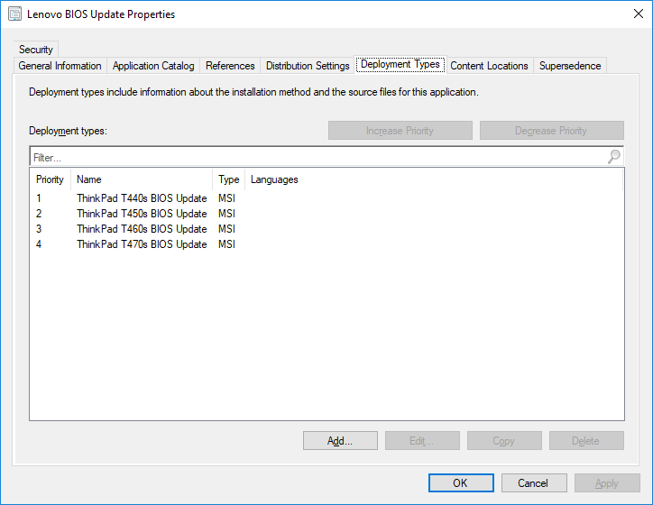 Updating BIOS with appmodel – Lenovo | nosnik